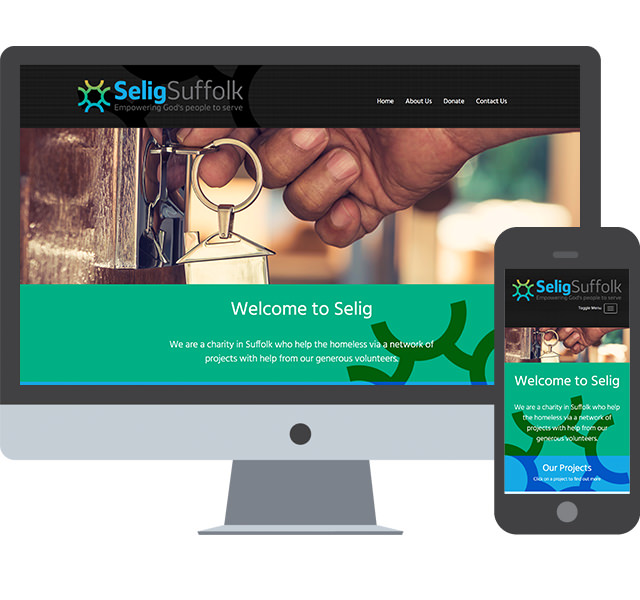 Responsive Web Design for Selig Trust